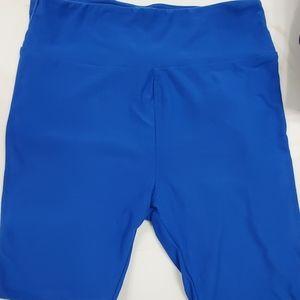 Lularoe one size solid blue legging